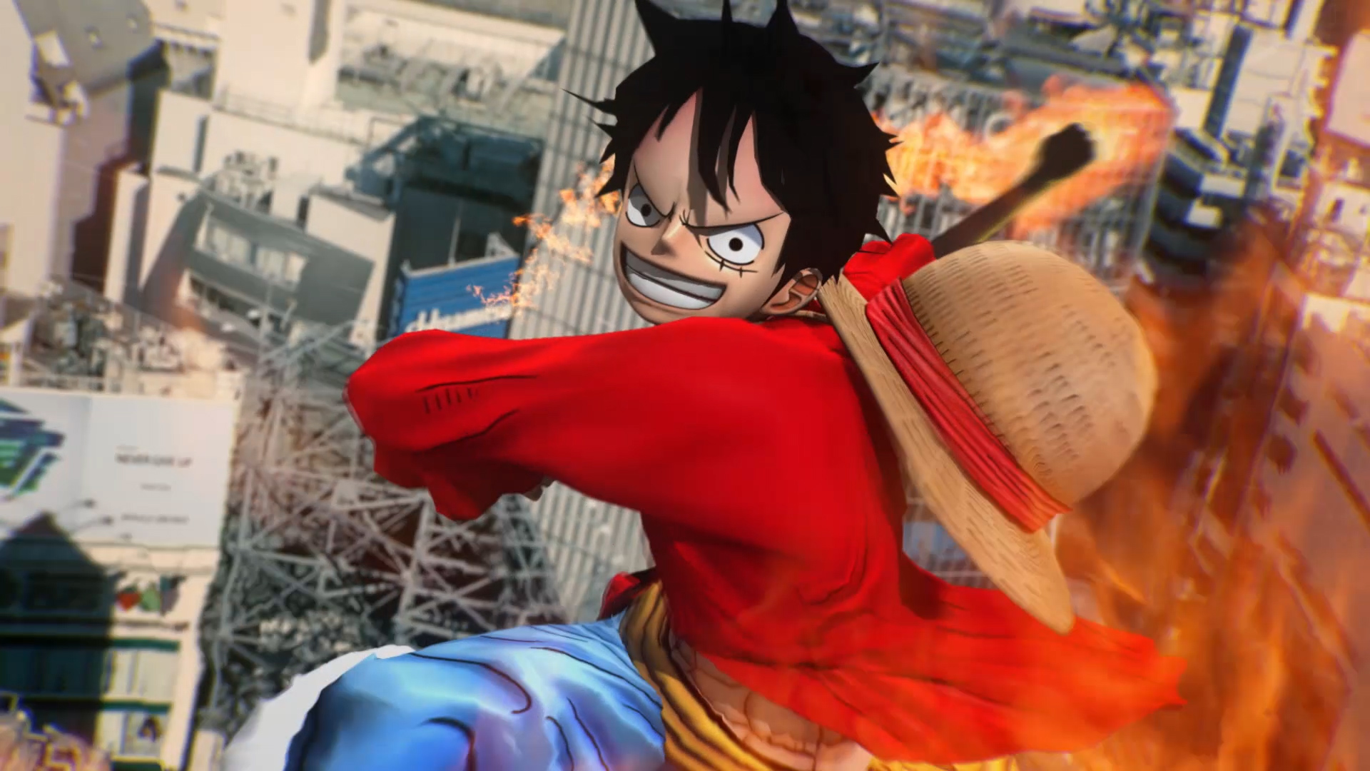バンダイナムコエンターテインメント<br>PS4,PSVita「ONE PIECE BURNING BLOOD」 ウェブムービー