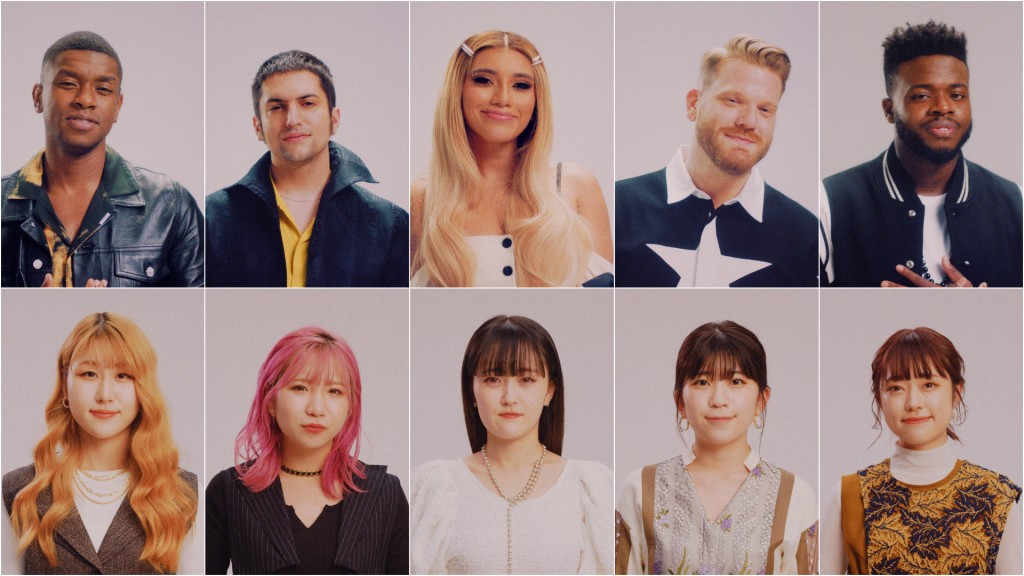 Sony Music Labels Inc.<br> Little Glee Monster 「Dear My Friend feat.Pentatonix」